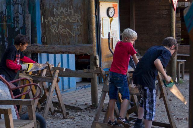 Abenteuerspielplatz Maulwurfhausen, Foto: Katy Spichal