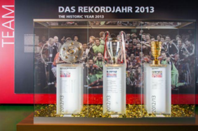 FC Bayern Museum, Foto: FC Bayern Museum