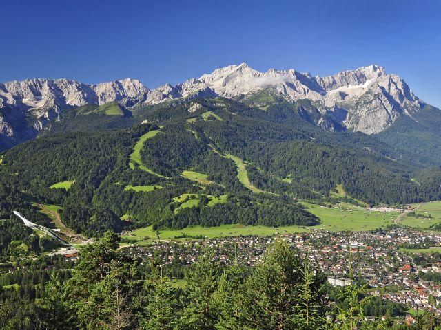 Die Region Wettersteingebirge um Garmisch-Partenkirchen, Foto: Markt Garmisch-Partenkirchen/Lutz