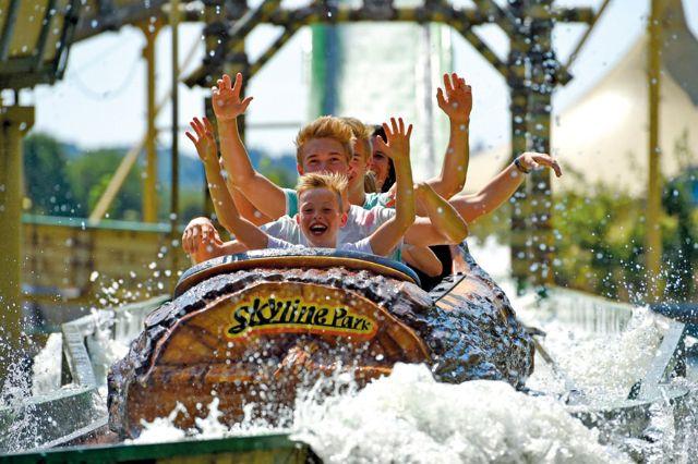Wildwasserbahn Skyline Park, Foto: Skyline Park