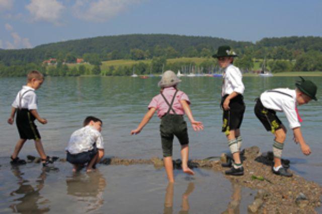 Abkühlung am Tegernsee, Foto: Tegernseer Tal Tourismus GmbH