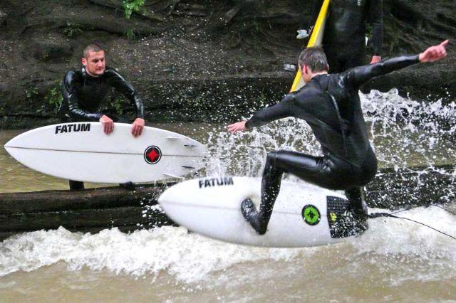 Eisbachsurfer, Foto: Immanuel Rahman