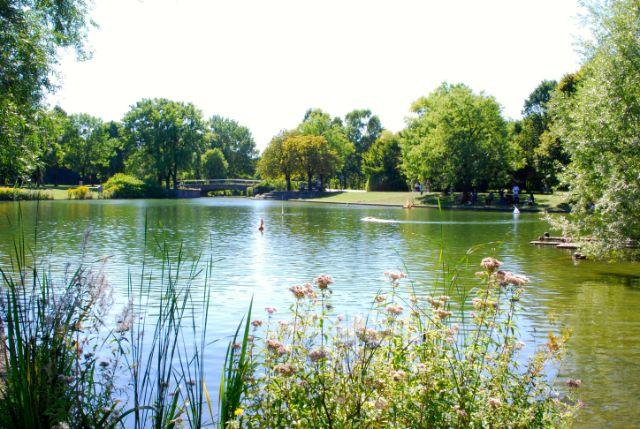 Westpark See München, Foto: Michael Neißendorfer