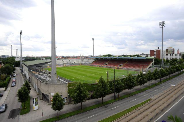 """Städtisches Stadion an der Grünwalder Straße - das """"Sechzger Stadion"""", Foto: TSV 1860 München"""