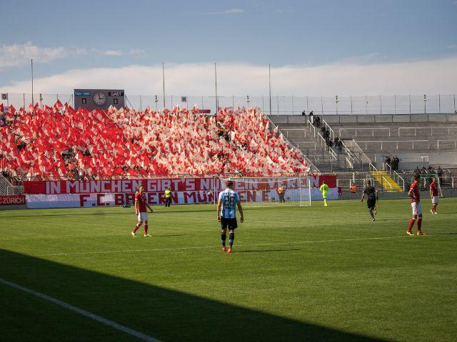 Impressionen vom Amateur-Derby 1860 gegen FC Bayern, Foto: muenchen.de/Lukas Fleischmann