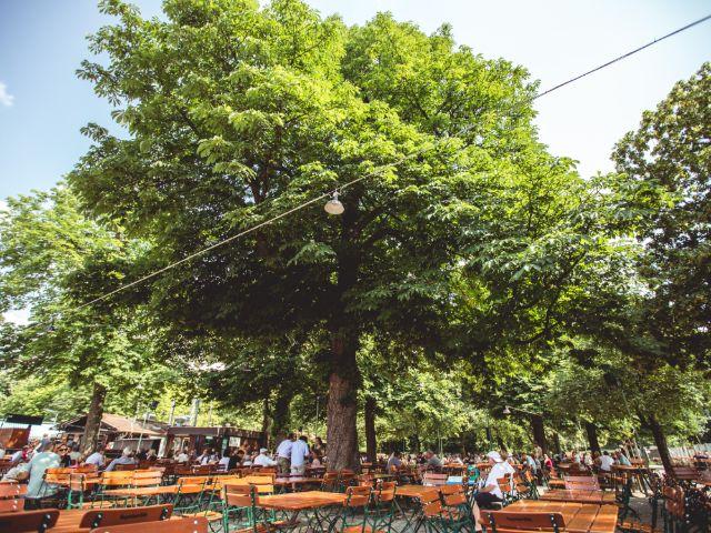 Biergarten, Freizeit, München, Foto: Sebastian Lehner
