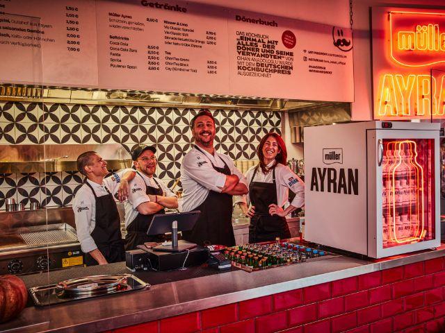 Das Team von Hans Kebab , Foto: Herbolsheimer Fotografie