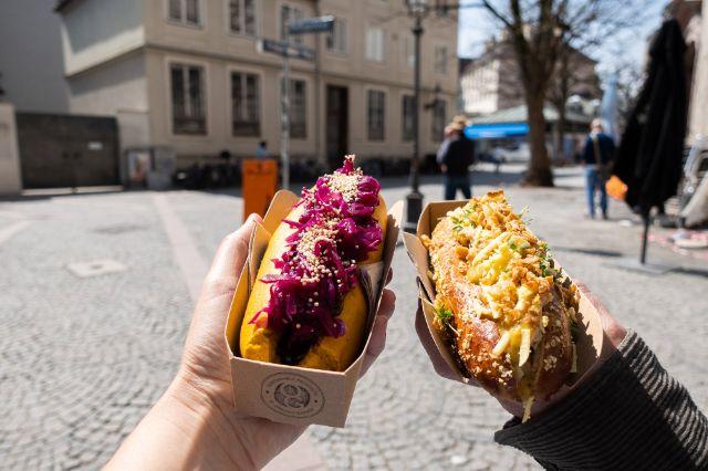 Vegane Hot Dogs von Organic Garden, Foto: Anette Göttlicher