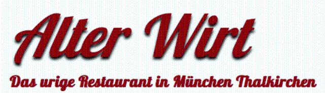 Alter Wirt Thalkirchen Logo