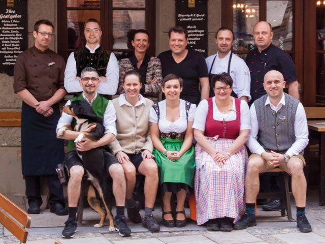 Das Team um Peter Schmutzer