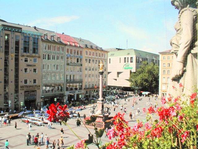 Marienplatz, Foto: Cafe am Marienplatz