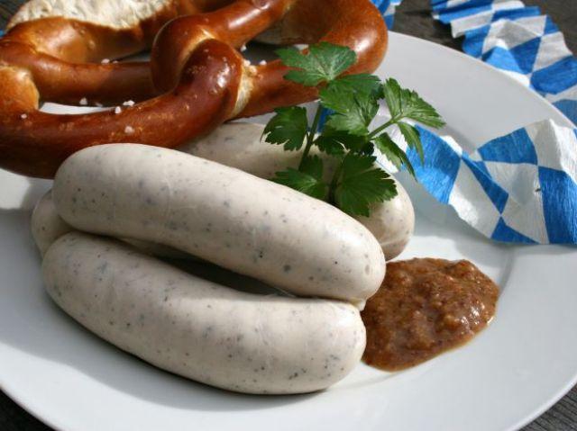 Weißwurst at Cafe am Marienplatz, Foto: Cafe am Marienplatz