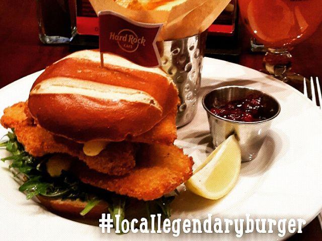 "Der Local Legendary ""Bavarian Schnitzel Burger"""