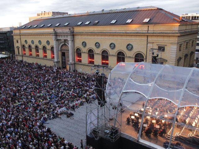 Festspielkonzert am Marstallplatz, Foto: Wilfried Hoesl