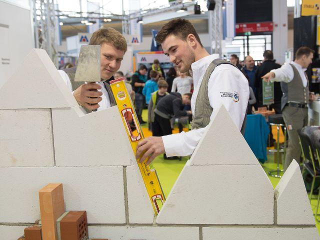 Handwerksmesse: Auf der YoungGeneration in Halle C3 wirbt das Handwerk um die Nachwuchskräfte von morgen., Foto: GHM