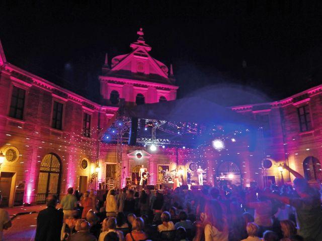 Konzert im Brunnenhof der Residenz, Foto: Kulturgipfel/Christian Wendt