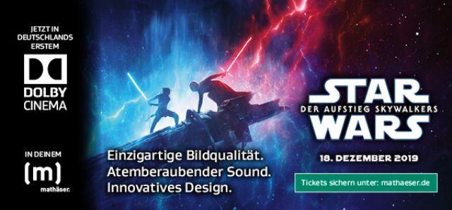Star Wars im Dolby Cinema - Mathäser, Foto: Mathäser