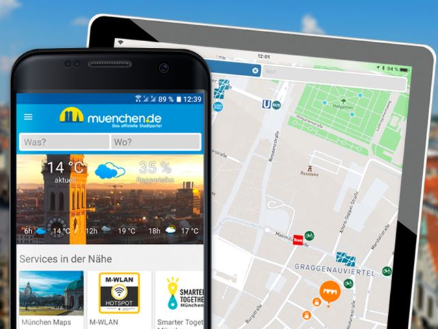 Android iPad: Smart City App