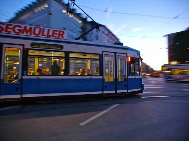 Tram in München, Foto: MVV