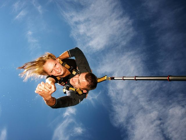 Bungee jumping, Foto: Vertical Sports
