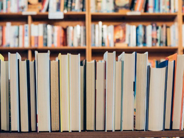 Bücher in einer Buchhandlung, Foto: Jessica Ruscello