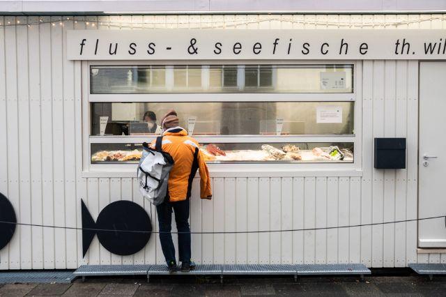 Der Elisabethmarkt in Schwabing, Foto: Anette Göttlicher