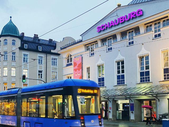 Die Schauburg am Schwabinger Elisabethplatz in München, Foto: Anette Göttlicher