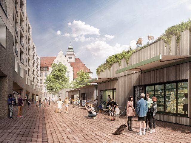 So soll der neue Elisabethmarkt aussehen, Foto: bogevischs buero