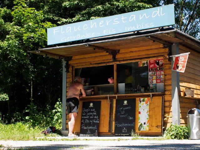 Kiosk Flaucherstandl München