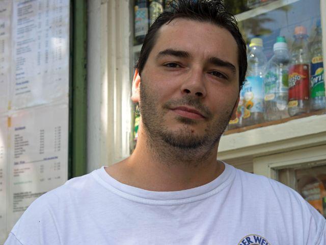 Raimund Mikschy vom Kiosk in Thalkirchen