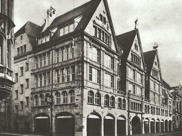 Das Traditionshaus Anfang des 20. Jahrhunderts, Foto: Oberpollinger