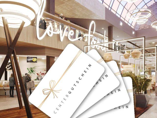 Gutschein für das Olympia Einkaufszentrum, Foto: OEZ