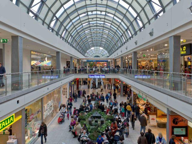 Innenansicht OEZ, Foto: Olympia-Einkaufszentrum