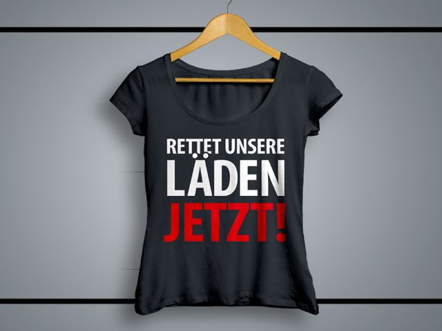 """Motiv zur Initiative """"Rettet unsere Läden!"""", Foto: OEZ"""