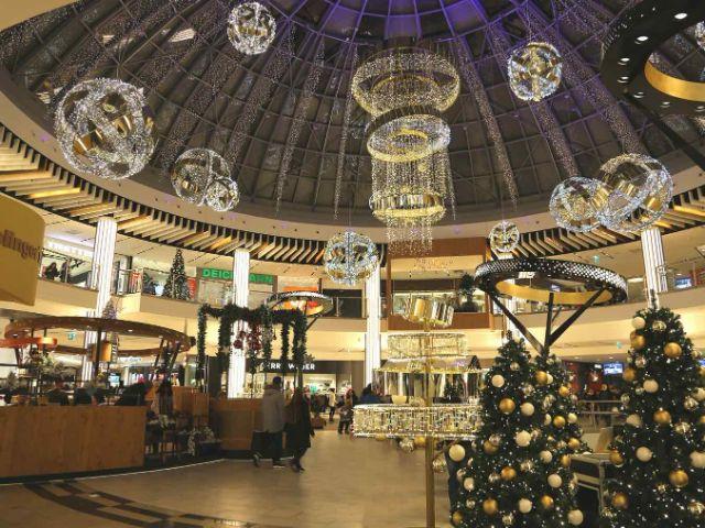 pep weihnachtlich dekoriert, Foto: pep
