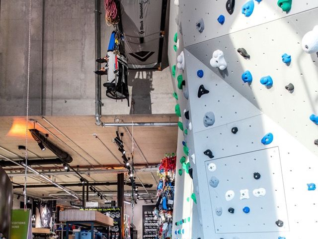 Boulderwand, Sport Schuster, Sport, Foto: Anja Richter
