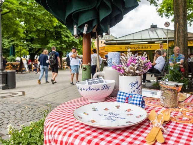 Mitbringsel vom Markt, Foto: Anette Göttlicher