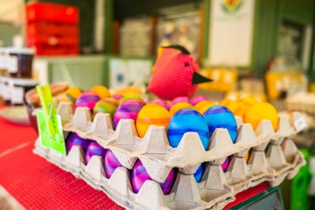 Ostereier vom Viktualienmarkt, Foto: Anette Göttlicher