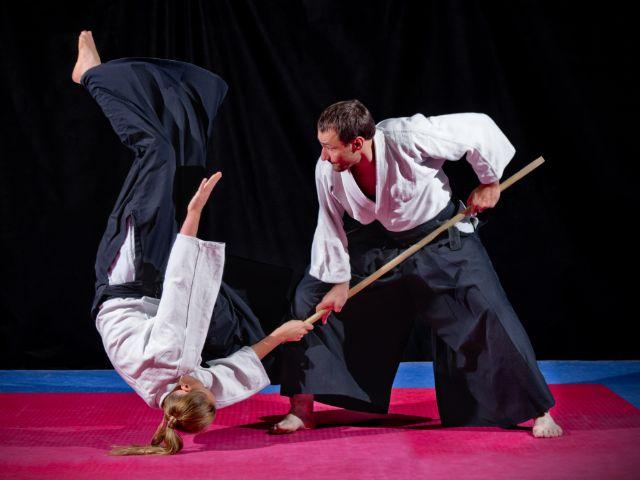 Aikido Kampf, Foto: Boris Ryaposov / Shutterstock.com