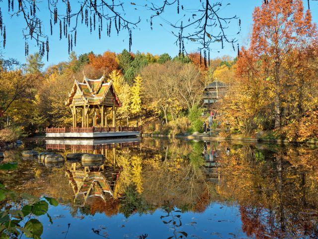 Herbst im Westpark, Foto: Shutterstock, 2016