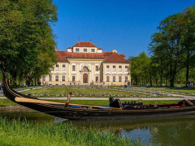 Gondel vor Schloss Schleissheim