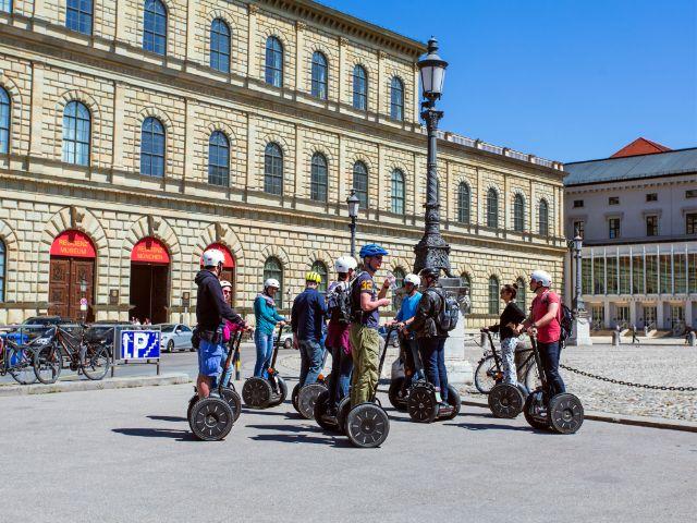 Segway-Tour durch München.
