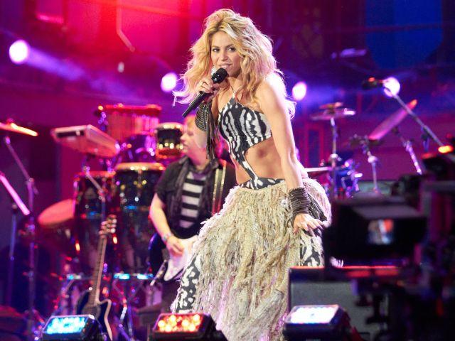Shakira live im Konzert
