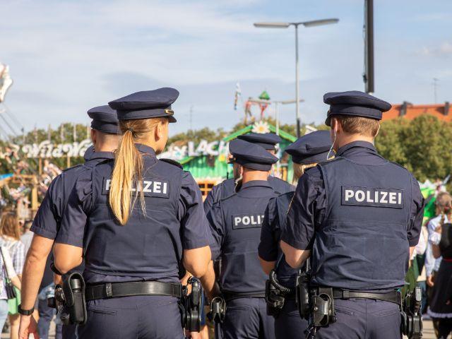 Polizei auf dem Oktoberfest