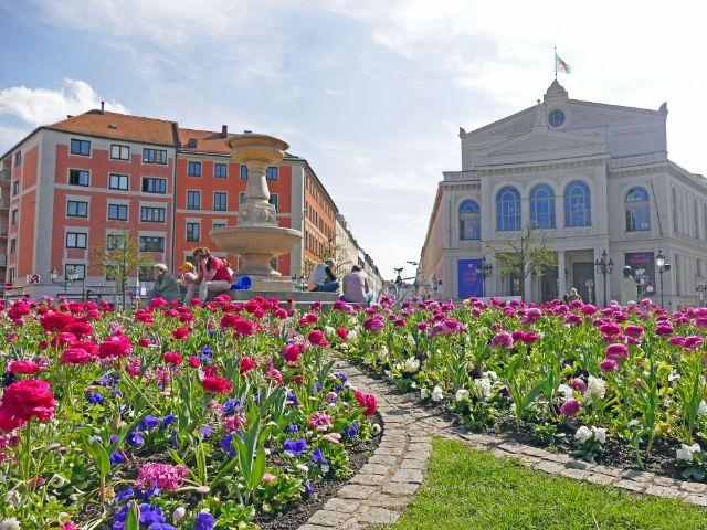Glockenbachviertel: Gärtnerplatz, Foto: muenchen.de/Leonie Liebich