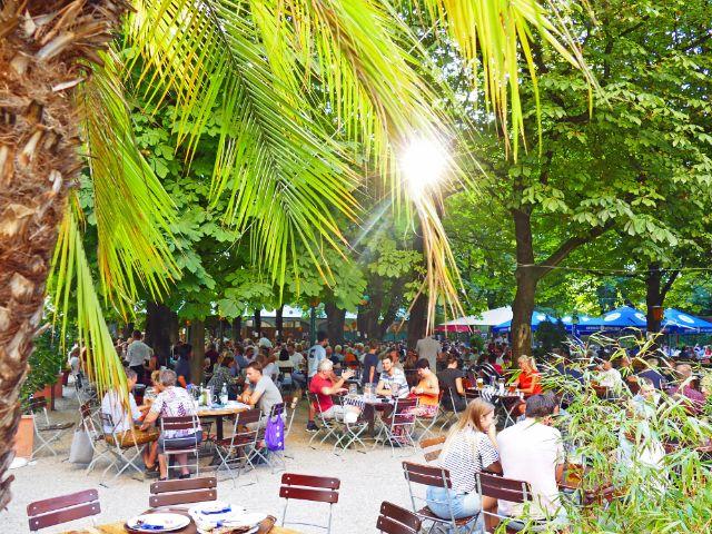 Hofbräubiergarten am Wienerplatz, Foto: muenchen.de/Leonie Liebich
