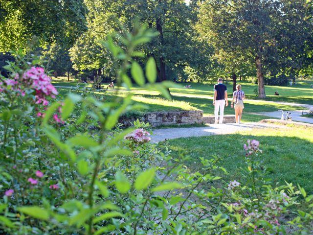 Sommer im Luitpoldpark, Foto: muenchen.de/Leonie Liebich