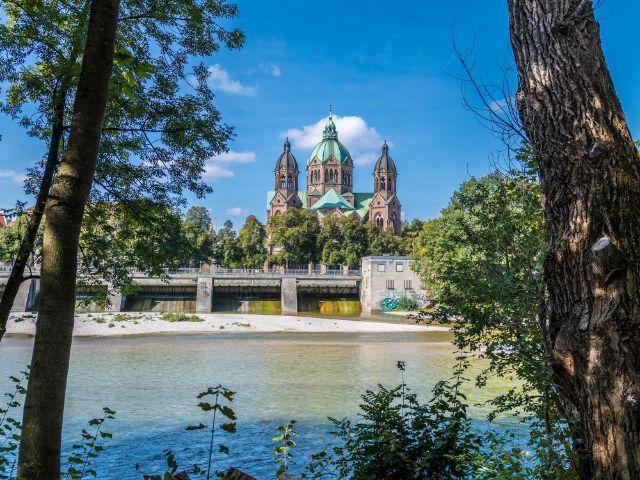 Kirche St. Lukas , Foto: muenchen.de/ Michael Hofmann