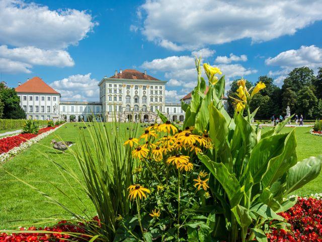 Sommer im Nymphenburger Schlosspark, Foto: muenchen.de/ Michael Hofmann