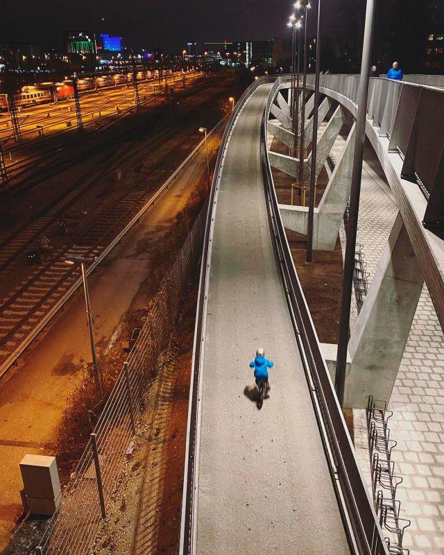 Arnulfsteg bei Nacht, Foto: muenchen.de/Anette Göttlicher